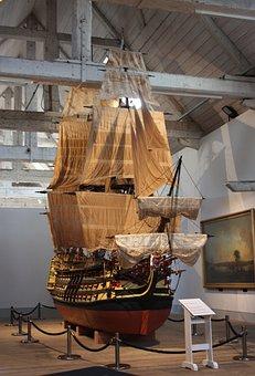 Ship, Sails, Museum, Masts, Jib, Victory