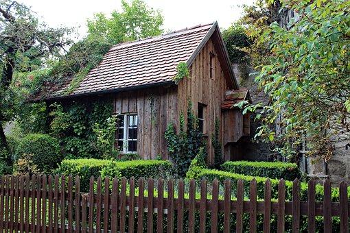 Alte Holzhütte Gartenhaus Romantisch Garte