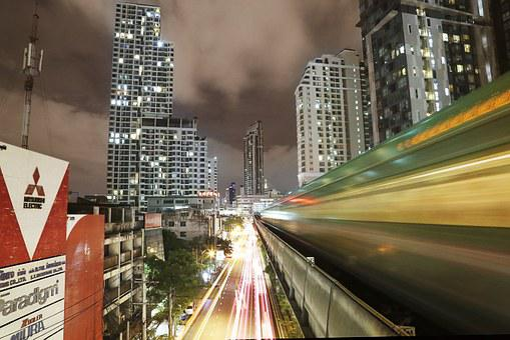 Skytrain, Thailand, Transportation, Sky
