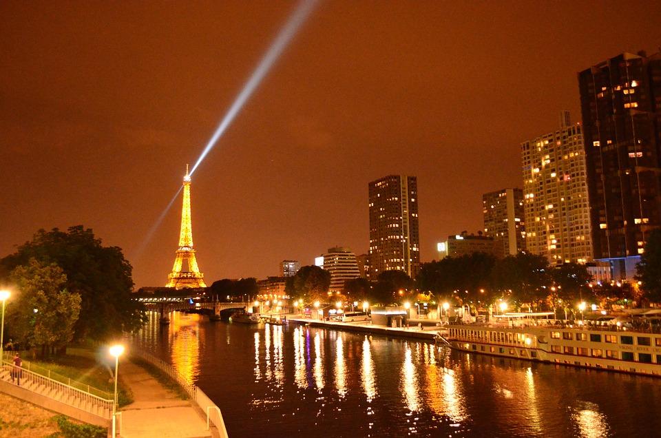 Photo gratuite: Paris, Tour Eiffel, Nuit, Sa - Image ...