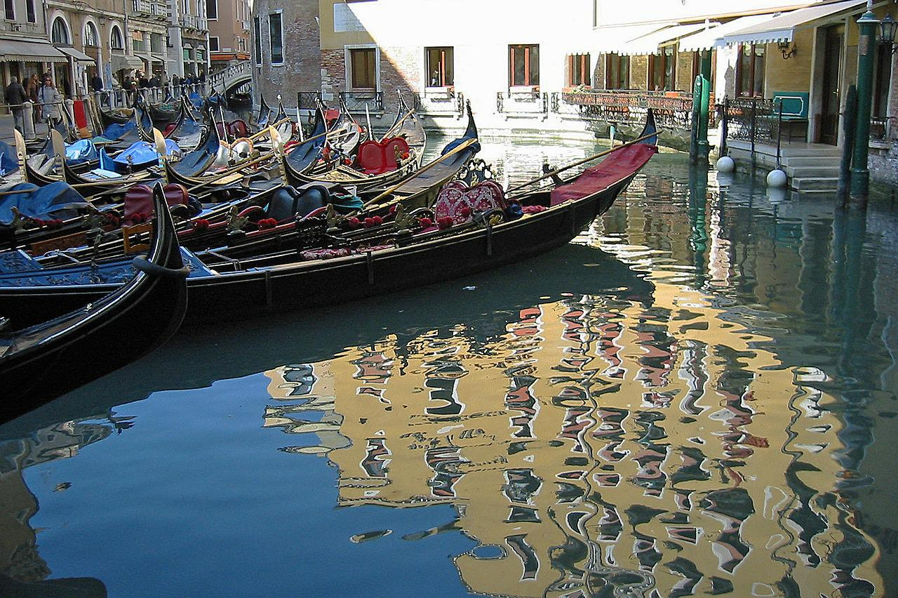 венецианские гондолы картинки