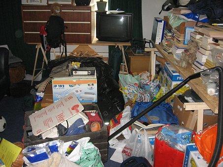 Organizing, Clutter, Chaos, Clutter