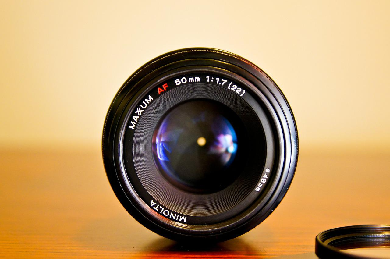 What is a lens in photography