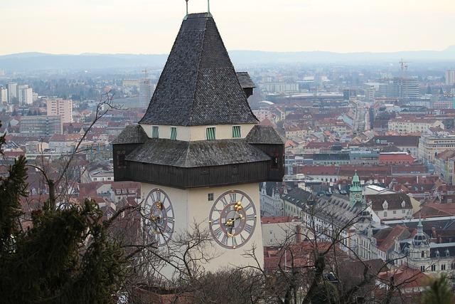 Graz Steiermark Uhrturm · Kostenloses Foto auf Pixabay