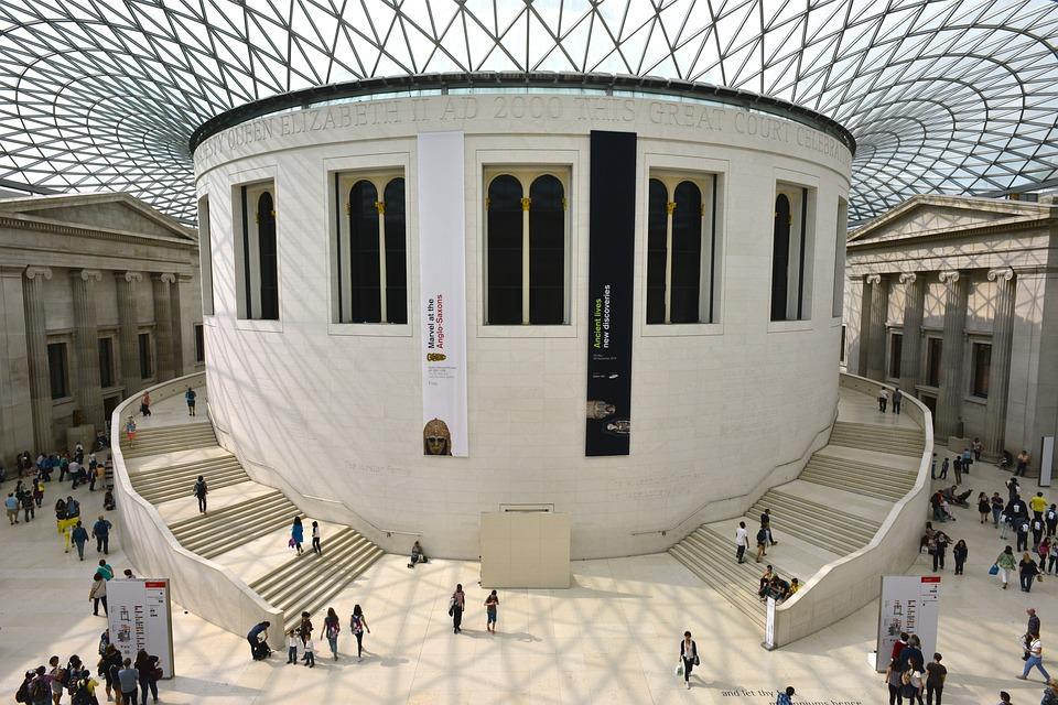 Musée, Toit, L'Architecture, Londres, Point De Repère