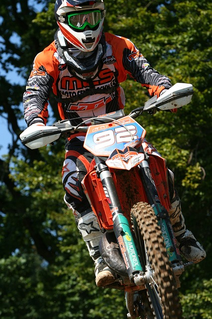 free photo motocross motorcycle jump race free image