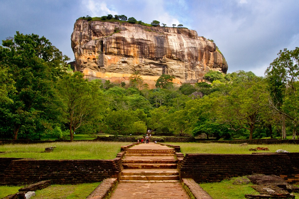 Sigiriya, Sri Lanka, Dambulla, Mountain, Unesco