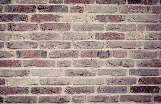 Bricks, Wall, Stones, Structure