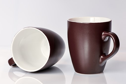 Coffee Mugs, T, Brown, Drink, Cup