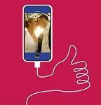 smartphone, wedding, luck