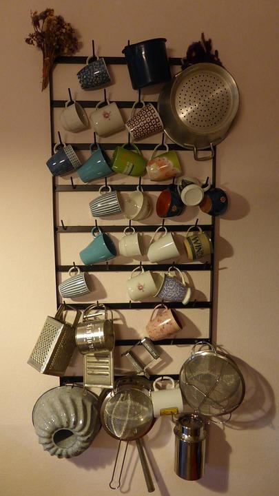 Kuchenregal Regal Tassen Kostenloses Foto Auf Pixabay