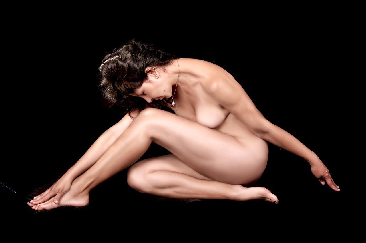 Classy elegant women nude