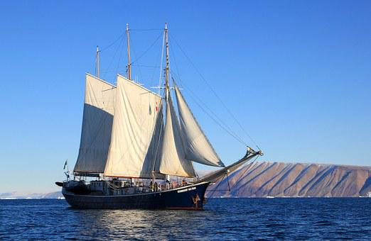 Sailboat Ship Sailing Greenland Boat