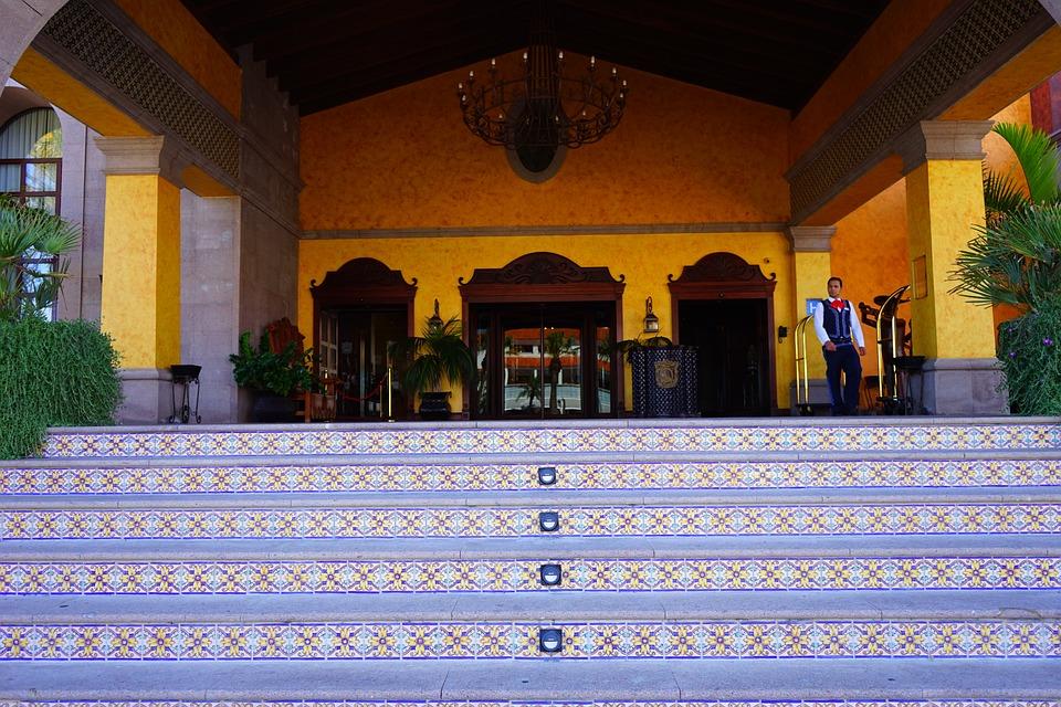 Hotel entreehal entrée · gratis foto op pixabay