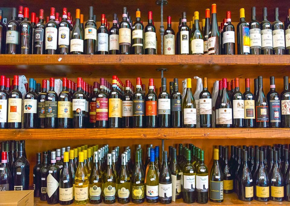 Turbo Kostenloses Foto: Wein, Flasche, Alkohol, Regal, Holz  PD35
