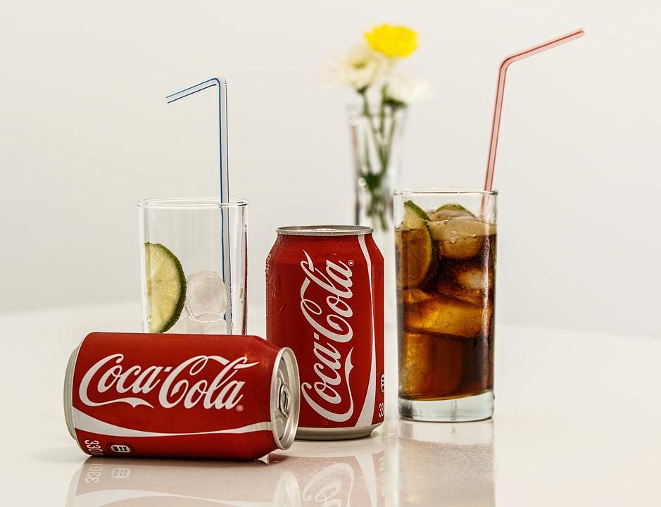 ドリンク, ソーダ, ガラス, することができます, 軽食, 炭酸飲料, ソフトド リンク, 冷たい飲み物