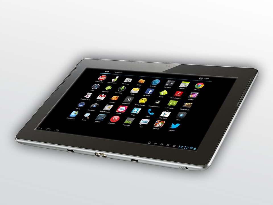 Free Photo Tablet Android Office Work Free Image On
