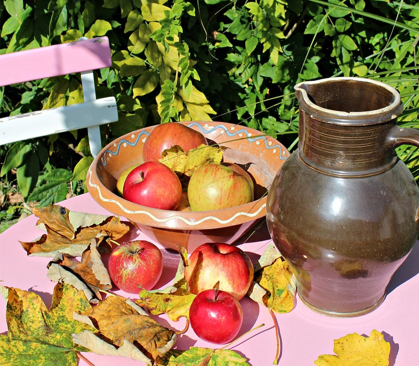 Apfel Garten Gartentisch Kostenloses Foto Auf Pixabay