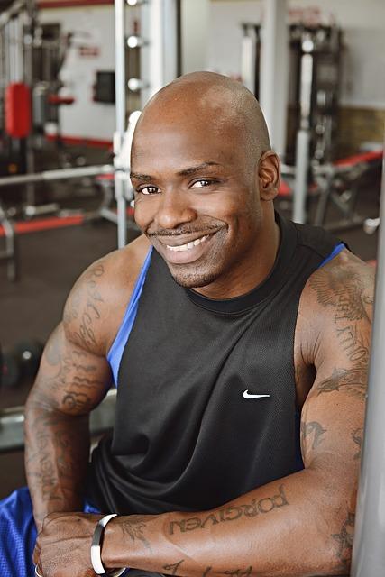 fitness guy black  u00b7 free photo on pixabay