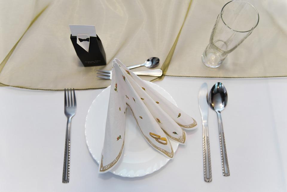 무료 사진: 다 이닝 테이블, 칼 붙이, 림, 컵, 숟가락, 포크 ...