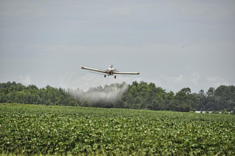 Image result for pesticide airplane