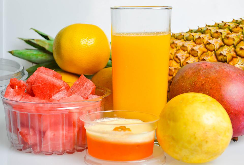 Frutti, Succo, Ananas, Mango, Anguria