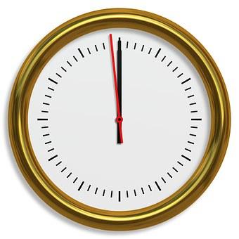 Uhr, 5 Vor 12, Fünf Vor Zwölf, Uhrzeiger