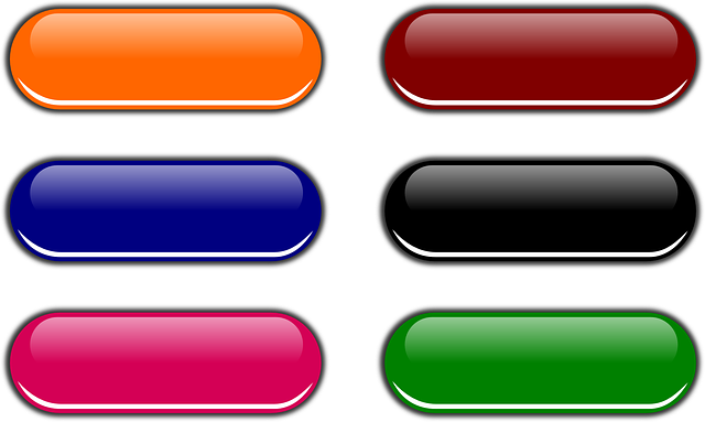 Free vector graphic: Web Buttons, Button, Shiny, Glossy - Free ...