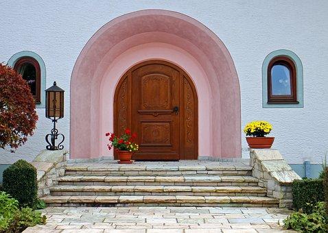 Round Arch, Front Door, Entrance Door
