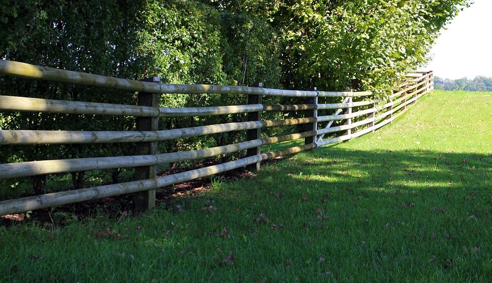 Holzzaun Abgrenzung Holz Kostenloses Foto Auf Pixabay