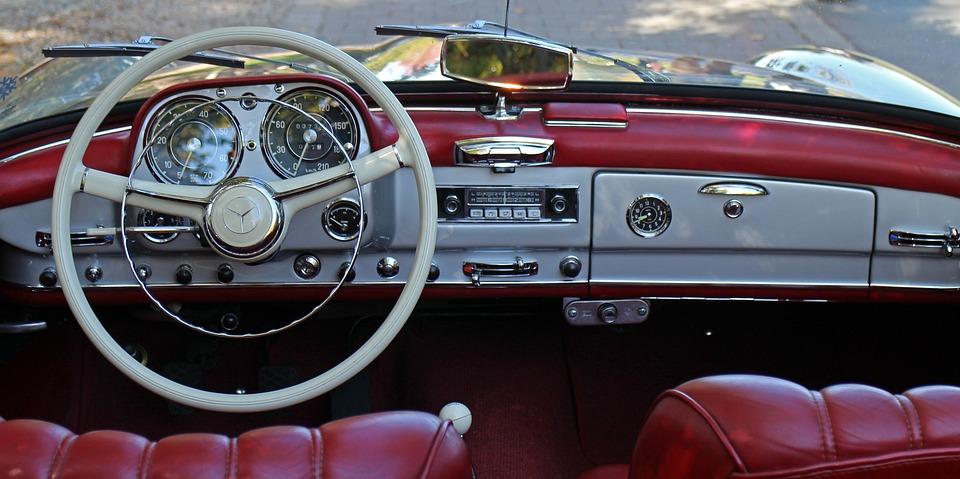 auto stuurwiel interieur leder instrumentenpaneel