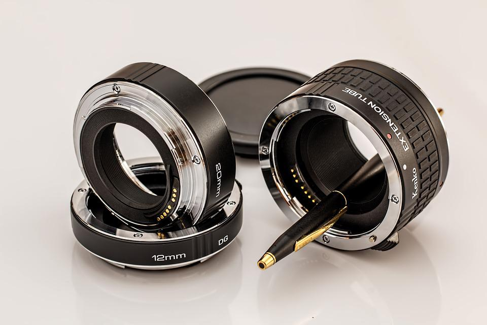 Macro Extension Tubes, Photographic Equipment