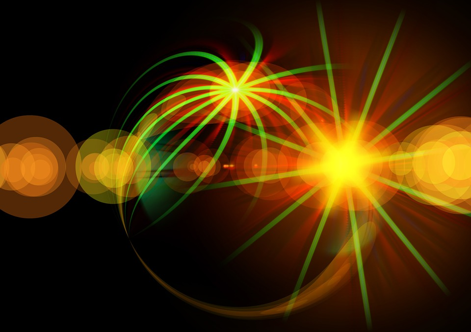 Ogon, Gwiazda, Tło, Migotać, Big Bang, Armageddon