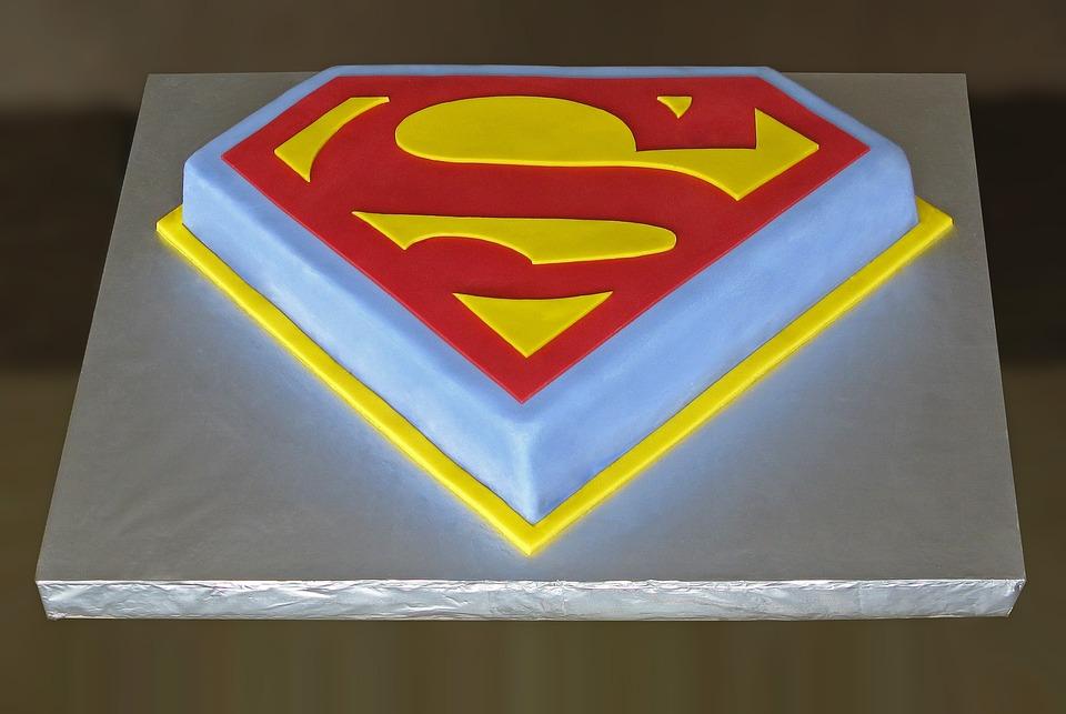 Superman Birthday Cake Free Photo On Pixabay