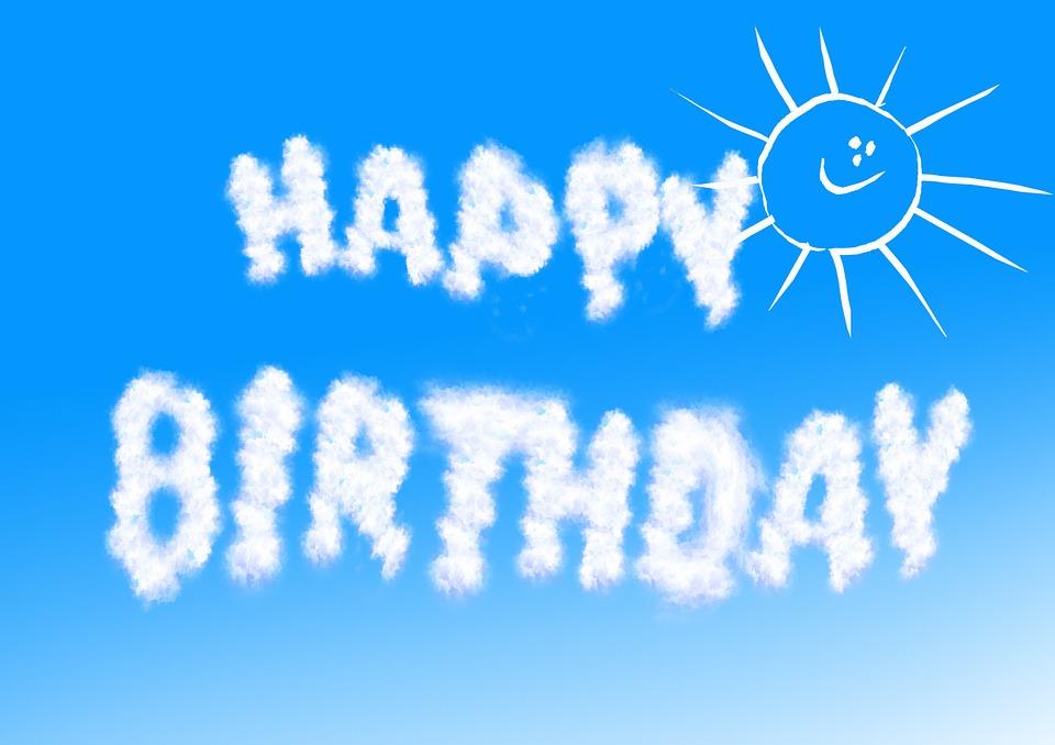 Geburtstag Sonne