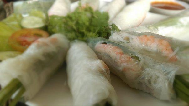 Rice Wrapper Soft Rolls
