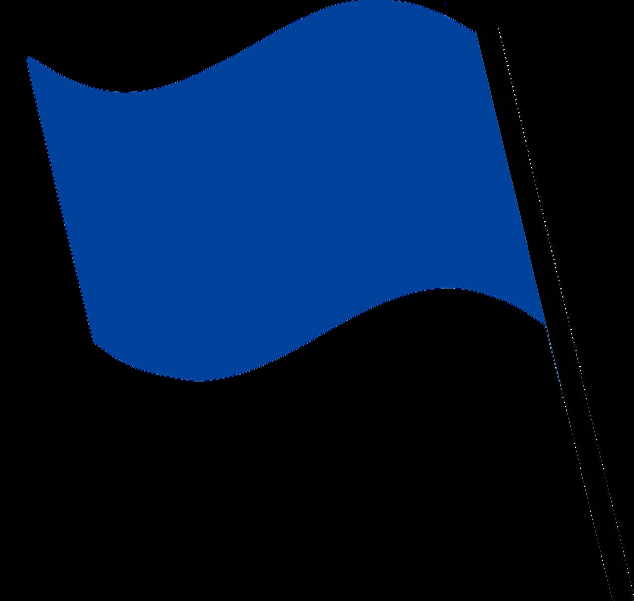 бело-синий флаг картинка