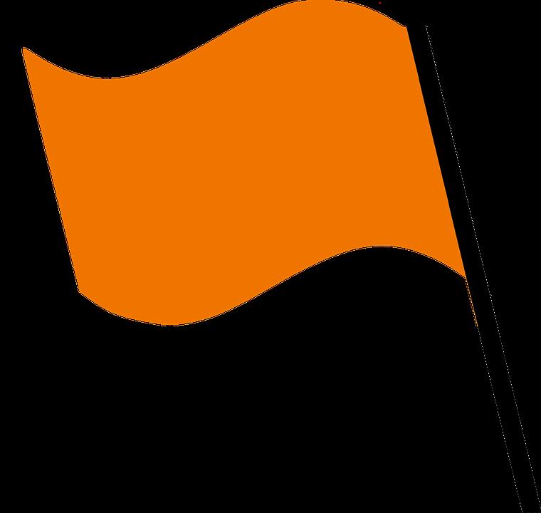 Flag Orange Wind 183 Free Image On Pixabay