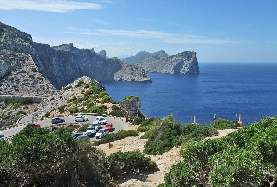 Free photo: Mallorca, Cap De Formentor, Coast