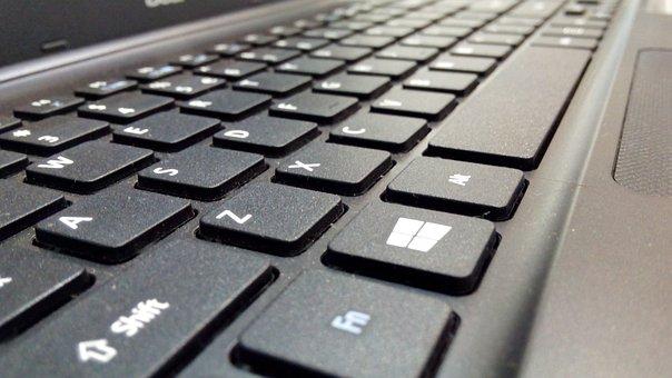 Keyboard, Laptop, Internet, Data, Input
