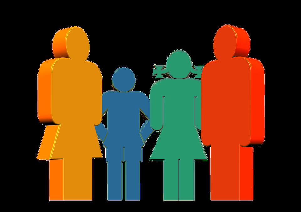 Top Illustration gratuite: Famille, Père, Mère, Enfant, Fille - Image  QA56