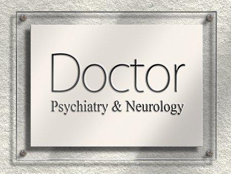 Arzt, Doktor, Fachärztin, Schild