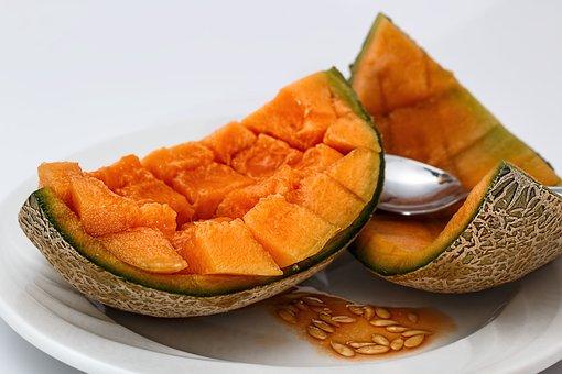 Cantaloupe, Sweet Melon, Melon