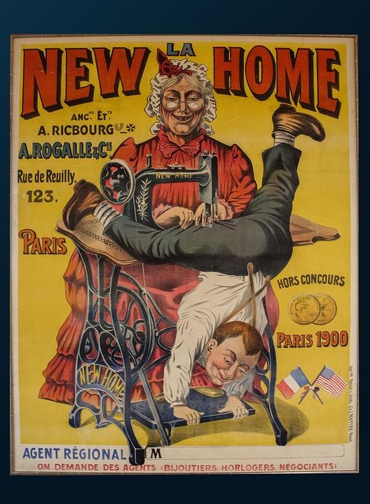 abbastanza Foto gratis: Poster, Pubblicità, Vintage - Immagine gratis su  SI58