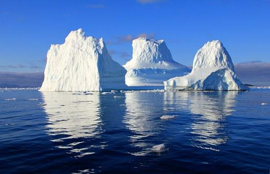 Iceberg Water Sea Mirroring Nature Solar B