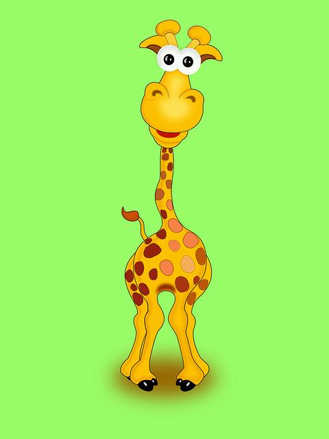 эстрады картинка жирафа веселая часов