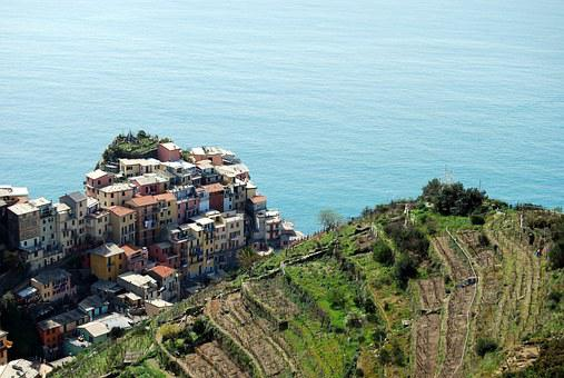 Cinque Terre Liguria Houses Sea Mountain G
