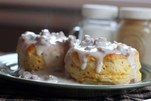 Keks, Soße, Frühstück, Hausgemachte