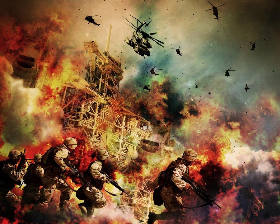 戦争, 兵士, 戦士, 爆発, ガンズ, 軍, 火災, 武器, 戦闘, ヘリコプター, 軍事, フライ, 米国