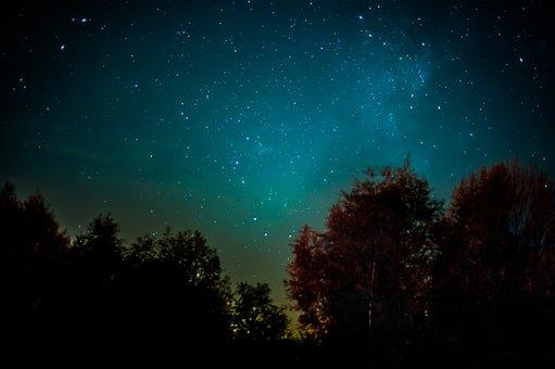 Milchstraße, Sterne, Nacht